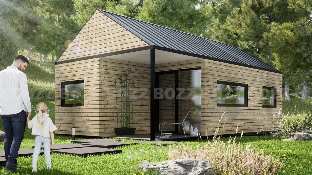 Budynek mieszkalny modułowy BOZZ BOX 2A-1
