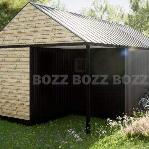 Budynek mieszkalny modułowy BOZZ BOX 2A-3