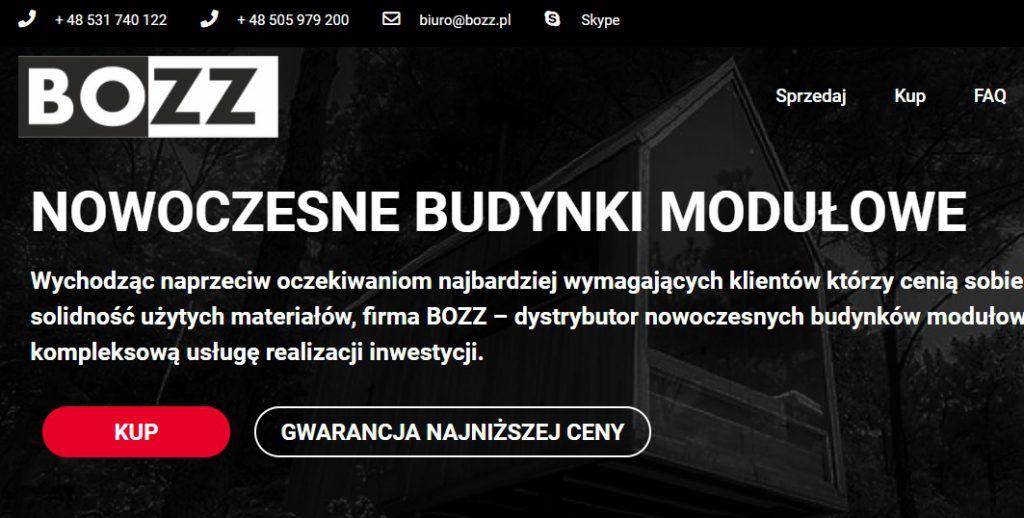 BOZZ - Budynki modułowe