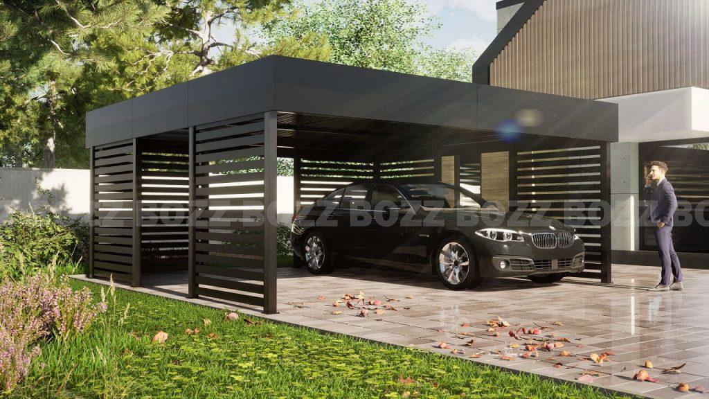Wiata garazowa BOZZ CARP 2A
