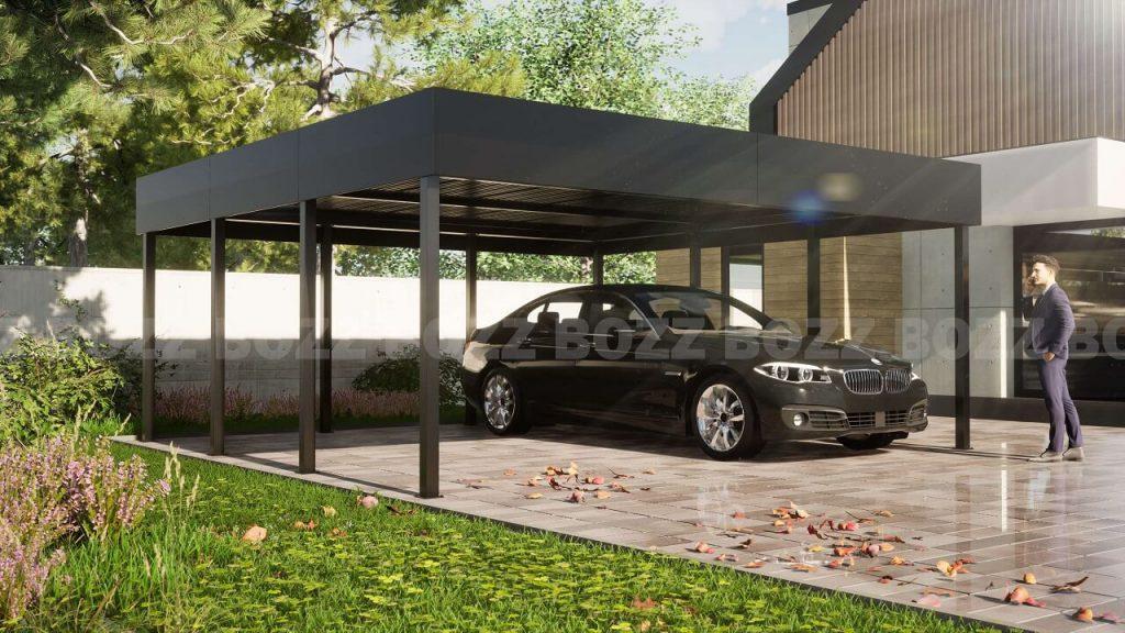 Wiata garażowa- BOZZ CARP 1A