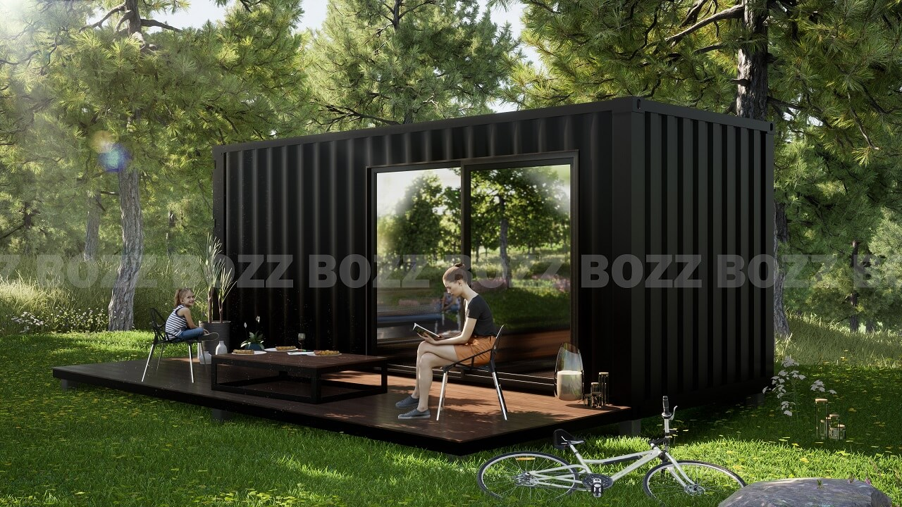 Kontener mieszkalny - BOZZ CONTI 2A-1