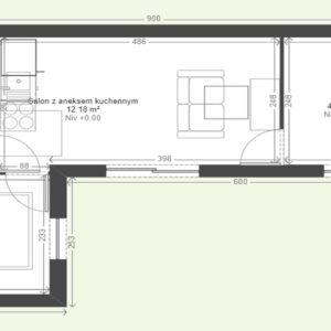 Dom modułowy - BOZZ BOX 4A